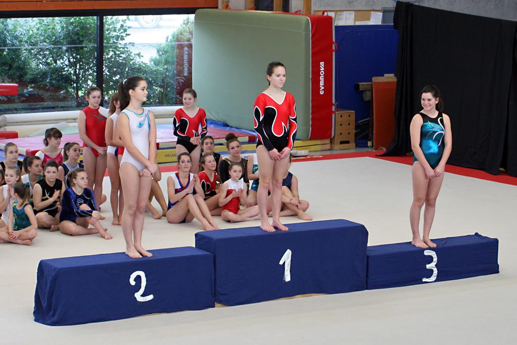 Compétition départementale individuelle GAF - Liffré, 19 janvier 2014